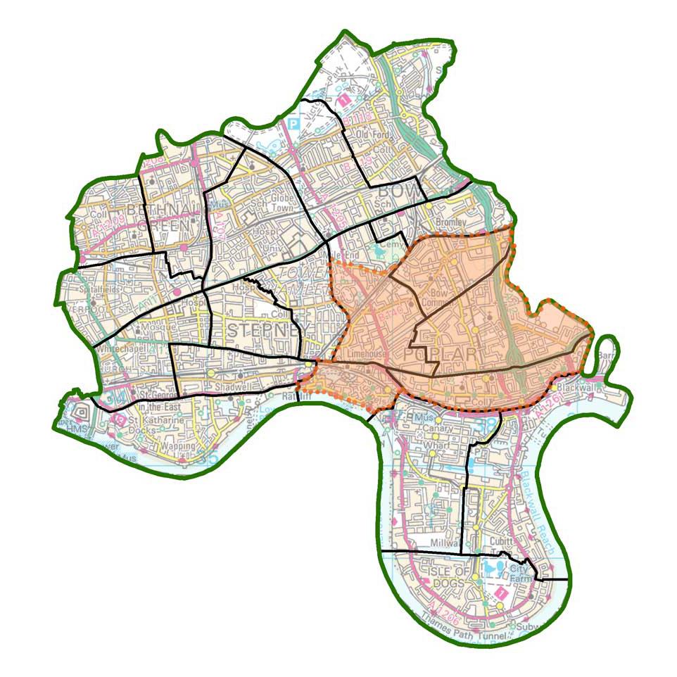 Poplar LDN patch map