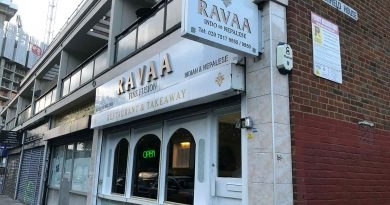 External shot of Ravaa Fine Fusion Indian and Nepalese Takeaway and restaurant